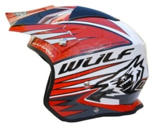 New Wulf Trials helmet