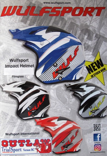 New Wulf Trials Helmets